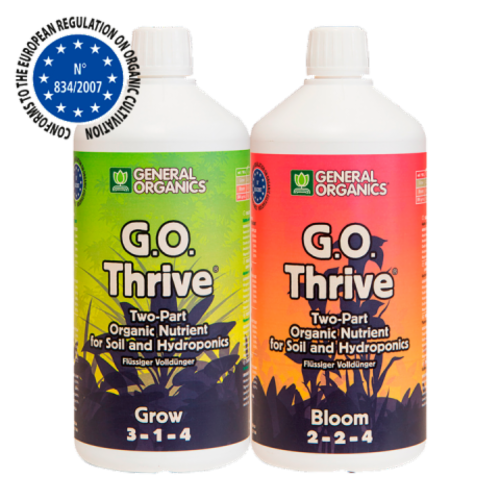 GHE G.O. Thrive Grow / Bloom TARJOUS -20%