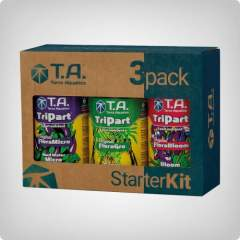Terra Aquatica 3-pack Tripart, pH down jauhe+tippatesteri 30ml